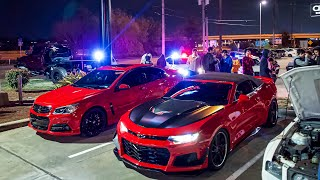 Cops SWARM CRAZY Car Show GONE WILD!! (Ridiculous Tickets Written...)