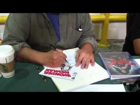 Tim Vigil draws Wonder Woman at SAC CON '16 (Pt. 3)