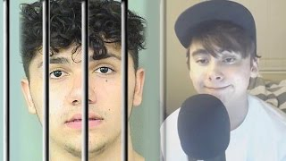 HUGE YouTuber Gets ARRESTED Caught on VIDEO! Leafy STRIKED, YouTubers Breakup Over a PRANK?