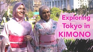 Exploring Tokyo in Kimono   AYA KIM