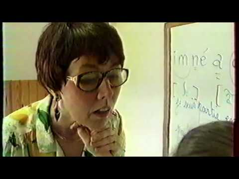 """1ere vidéo Émission """"La marche du siècle"""" - Le 16 setpembre 1992 - Le peuple des Sourds."""