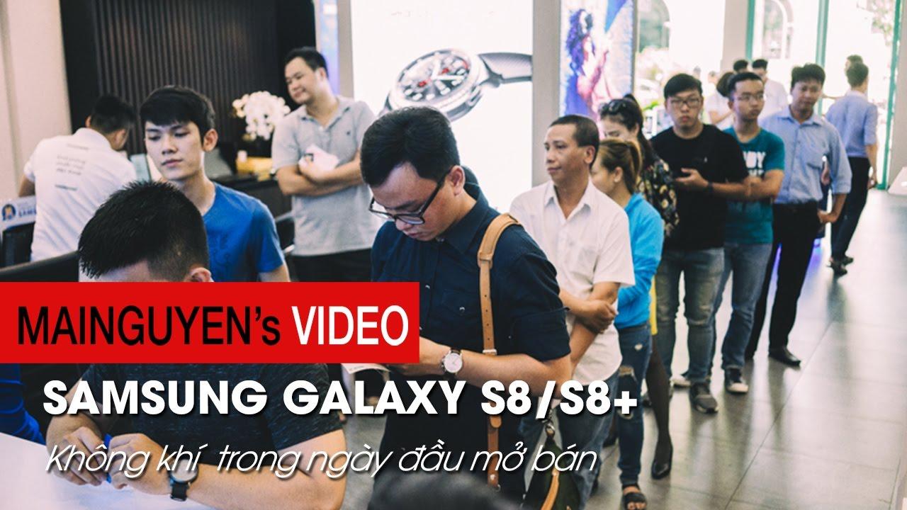 Mai Nguyên tưng bừng ngày mở bán bộ đôi Samsung Galaxy S8 S8+ – www.mainguyen.vn