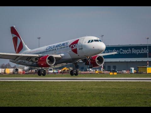 Vzlety a přistání na letišti Praha Ruzyně
