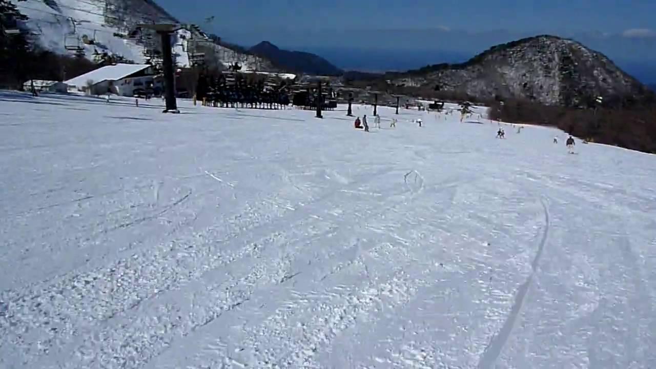 大山上の原スキー場 1 - YouTube