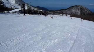 大山上の原スキー場 1
