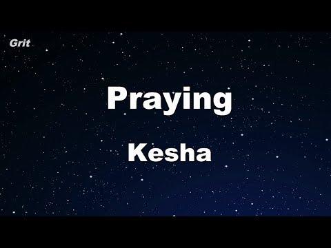 Praying - Kesha Karaoke 【No Guide Melody】 Instrumental