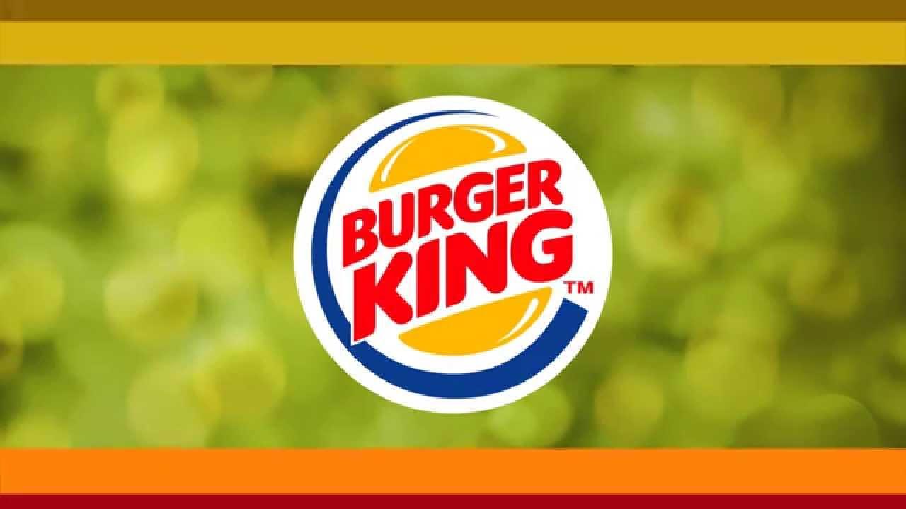 burger king logo motion graphics design youtube