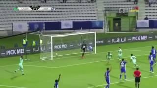 شنيبه يقود الشباب لفوز صعب على النصر في الدوري الإماراتي..فيديو