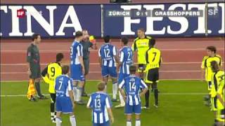 FC Zürich Vs Grasshoppers-Club Zürich