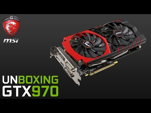 [60FPS] MSI GTX 970 Gaming 4G ► Unboxing & Test Česky ► Game