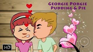 Georgie Porgie Pudding & Pie | Nursery Rhymes | Baby Songs | Kids Songs | Instrumental