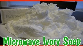 Easy Kids Science Experiments Microwave Ivory Soap