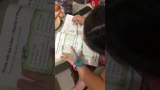 Reading English Sentences Phrases Kindergarten Preschoolers