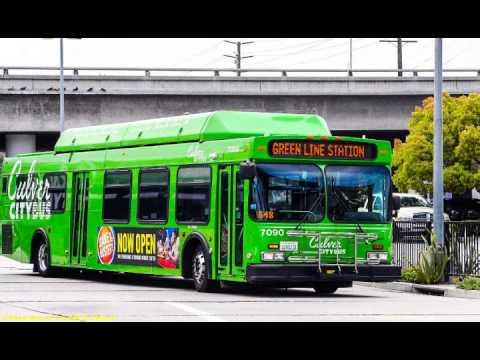 Culver City Bus Lines 2001 New Flyer C40LF #7091