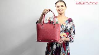 Gillian/ Обзор женской сумки Gillian/ Обзоры итальянских сумок от Domani.ru
