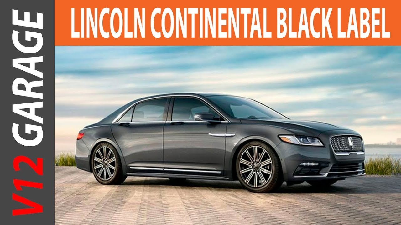 2018 Lincoln Continental Interior Price And Release Date Youtube