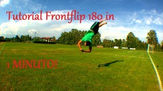 Tutorial Frontflip 180 in Italiano
