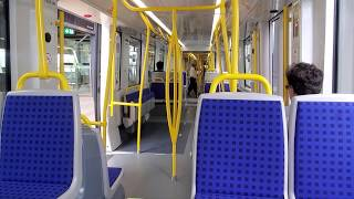 Riding the empty train during the pandemic..