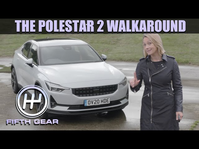 Polestar 2 Walkaround - Is this the best looking EV?   Fifth Gear