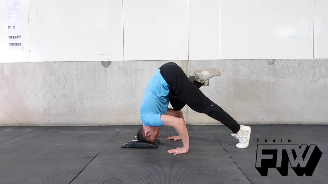 Headstand On Elbows