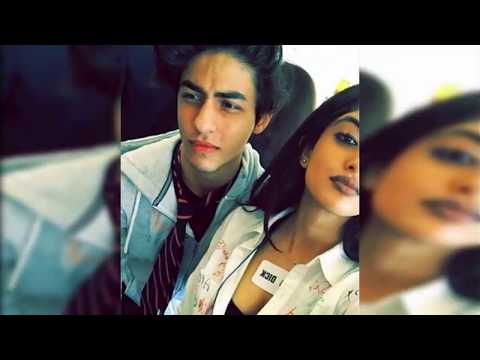 Shah Rukh Khan Son Aryan Khan with Girlfriend Amitabh's Grand Daughter Navya Bachan Pictures Viral