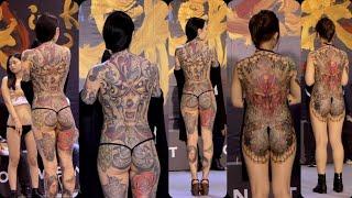 2018 台灣國際紋身藝術展 刺青展 最佳彩色大圖  TAIWAN TATTOO CONVENTION thumbnail