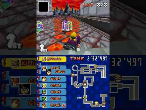 Mario Kart Ds Beta Bowser Castle Remake Youtube