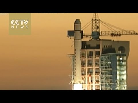 """China satellite launched to search for """"invisible particles"""""""