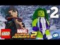LEGO Marvel Super Heroes 2 Walkthrough Part 2 - Thor and Captain America in Siberia