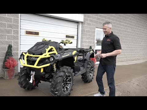 Can Am Outlander 1000 Xmr >> Can Am Xmr 1000 Pick Up From The Dealer