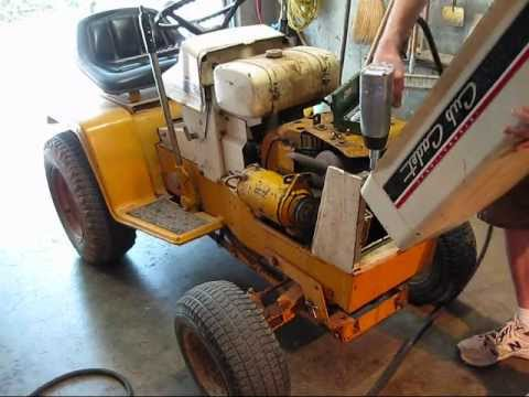 129 cub cadet removal of clutch bearing and starter pulley youtube rh youtube com MTD Cub Cadet Wiring Diagram cub cadet 149 wiring diagram