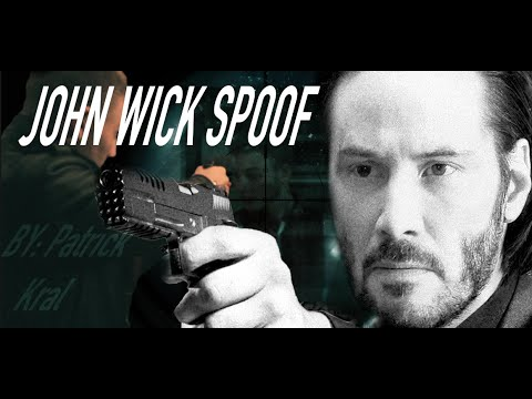 JOHN WICK SPOOF-ACTION FILM-James Bond type