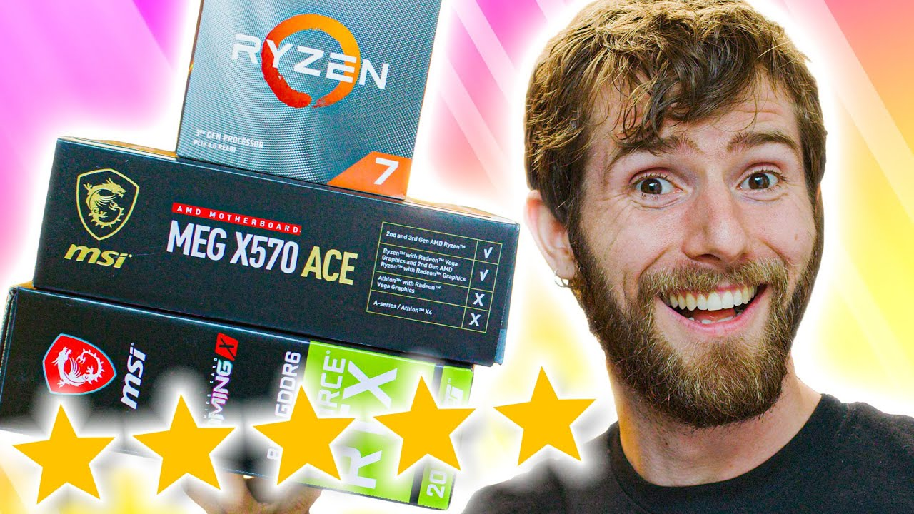 Linus Tech Tips Review Build Giveaway Newegg Insider