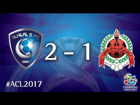 Al Hilal vs Al Rayyan (AFC Champions League 2017 : Group Stage - MD 2)