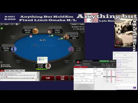 Anything but HoldEm S01-E010: #AnythingbutHoldEm Weekly Challenge - FL Omaha H/L - 1 / 2
