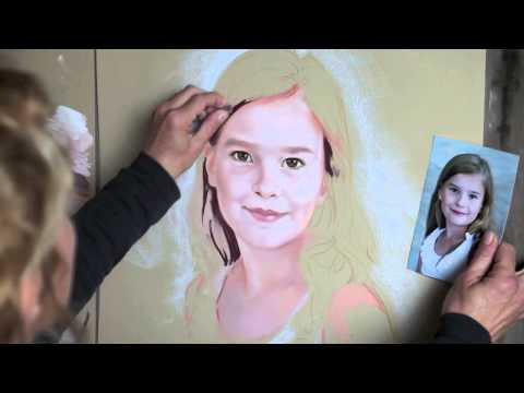 How To Paint A Pastel Portrait