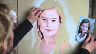 How to paint a Pastel Portrait