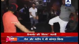 Virat Kohli, Chris Gayle dance to Bhangra beats