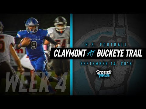 HS Football | Claymont at Buckeye Trail [9/14/18]
