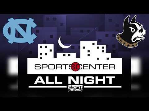 ESPN Radio on Wofford vs North Carolina