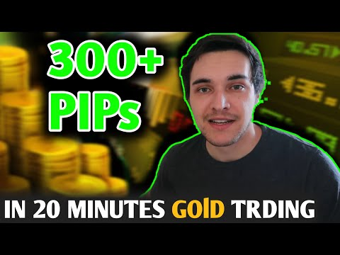 Catching 300+ Pips In 20 Minutes Trading Gold