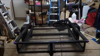 Lowe's 4x6 Utility Trailer overview