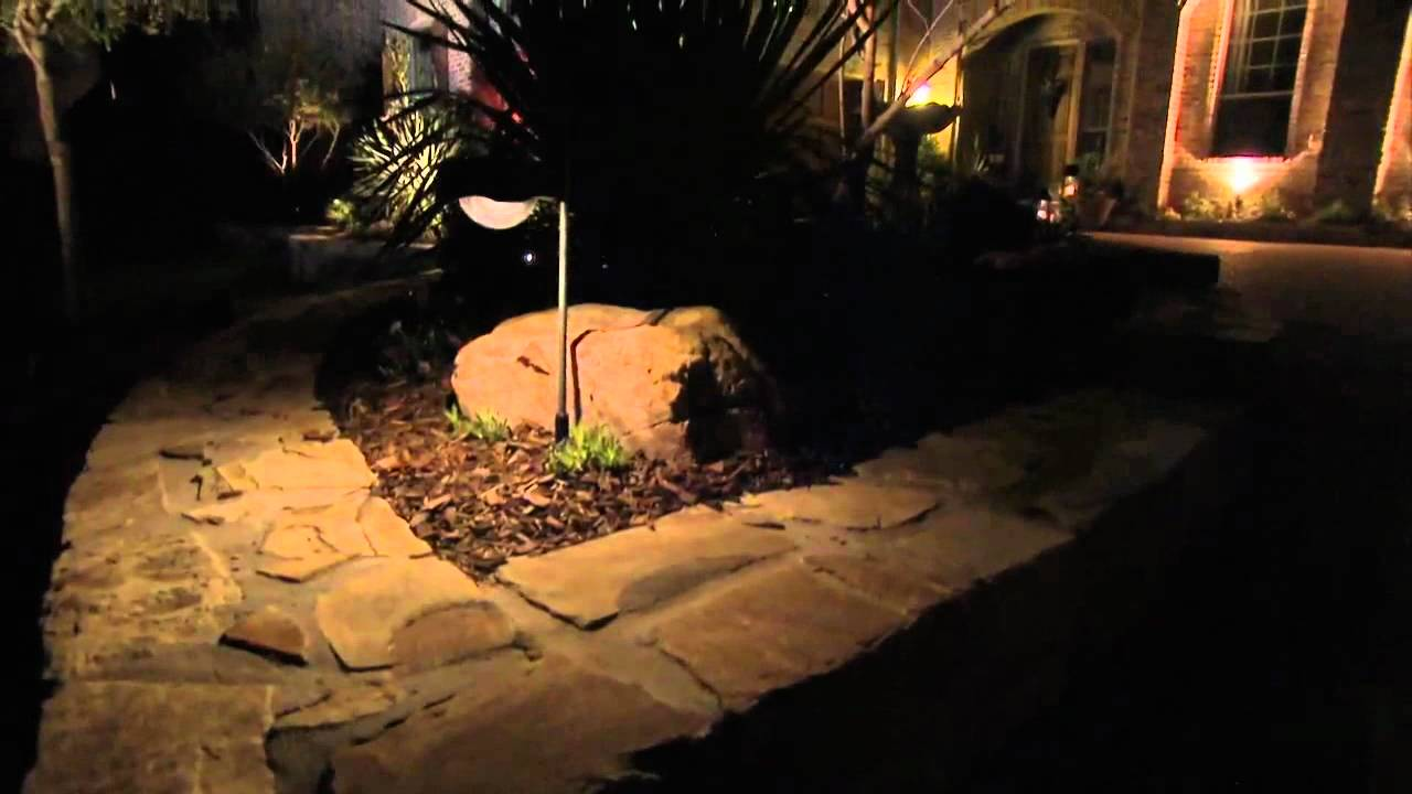 Twilight Solar Lotus Pathway Light By Smart Electric Works