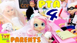 Parent Teacher Conference #4 | Shoppies Meet the Parents | Bridie, Gemma, Pineapple Lily