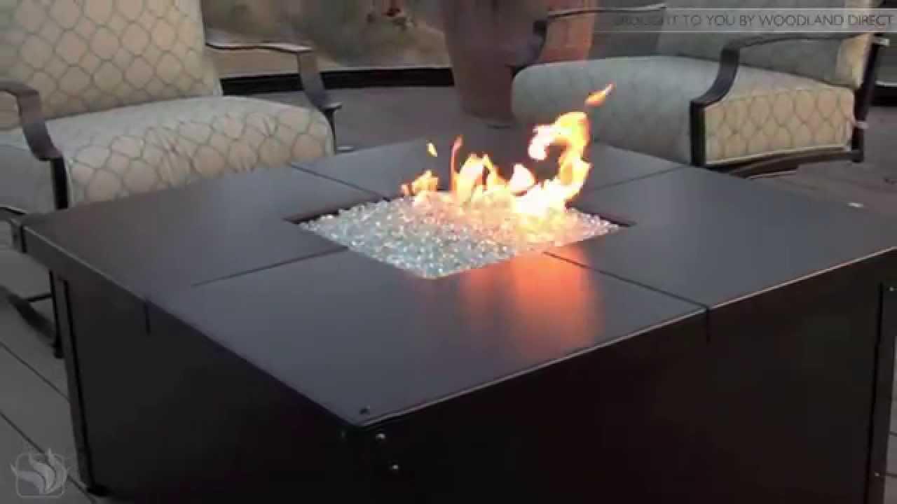 Aero Square Fire Pit Table