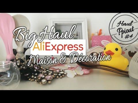 Big Haul Aliexpress #4   Déco & Maison !   YouTube