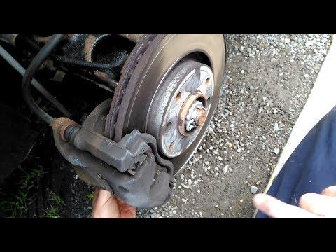 Change front brake pads on Citroen Cactus