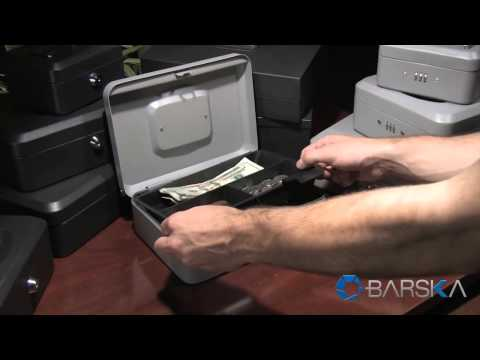 New Cash Boxes And Lock Boxes By Barska CB11782