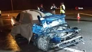 Samsun'da feci kaza 2 ölü 1 yaralı | Samsun ve Haber