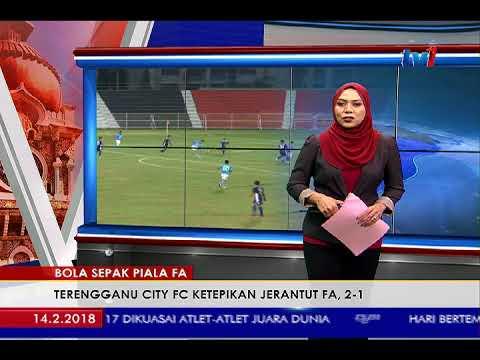 BOLA SEPAK PIALA FA – TERENGGANU CITY FC KETEPIKAN JERANTUT FA, 2-1 [14 FEB 2018]